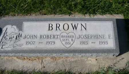 BROWN, JOSEPHINE E. - Dawes County, Nebraska | JOSEPHINE E. BROWN - Nebraska Gravestone Photos