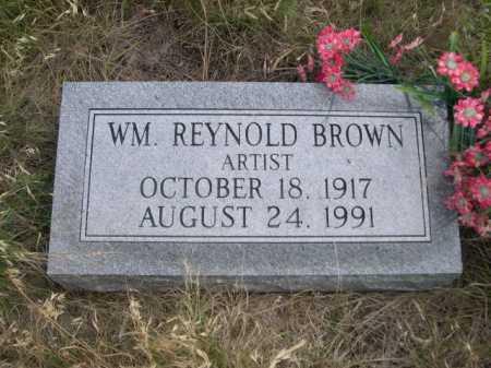 BROWN, WM. REYNOLD - Dawes County, Nebraska   WM. REYNOLD BROWN - Nebraska Gravestone Photos