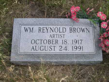 BROWN, WM. REYNOLD - Dawes County, Nebraska | WM. REYNOLD BROWN - Nebraska Gravestone Photos