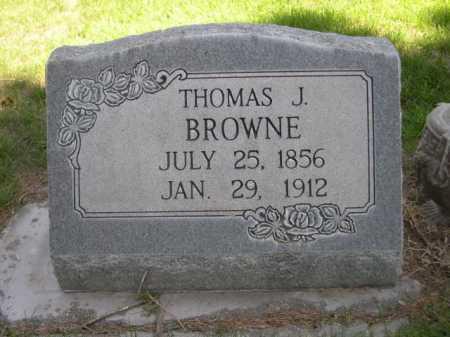 BROWNE, THOMAS J. - Dawes County, Nebraska | THOMAS J. BROWNE - Nebraska Gravestone Photos