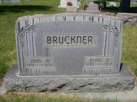 BRUCKNER, PEARL D. - Dawes County, Nebraska | PEARL D. BRUCKNER - Nebraska Gravestone Photos