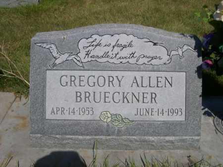 BRUECKNER, GREGORY ALLEN - Dawes County, Nebraska | GREGORY ALLEN BRUECKNER - Nebraska Gravestone Photos