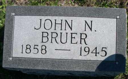 BRUER, JOHN N. - Dawes County, Nebraska | JOHN N. BRUER - Nebraska Gravestone Photos