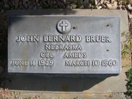 BRUER, JOHN BERNARD - Dawes County, Nebraska | JOHN BERNARD BRUER - Nebraska Gravestone Photos