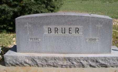 BRUER, JOHN - Dawes County, Nebraska | JOHN BRUER - Nebraska Gravestone Photos