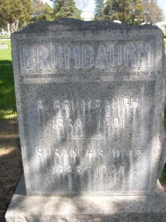 BRUMBAUGH, SUSAN - Dawes County, Nebraska | SUSAN BRUMBAUGH - Nebraska Gravestone Photos