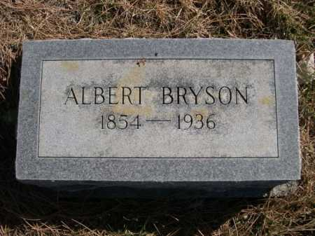 BRYSON, ALBERT - Dawes County, Nebraska | ALBERT BRYSON - Nebraska Gravestone Photos