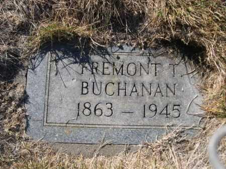 BUCHANAN, FREMONT T. - Dawes County, Nebraska | FREMONT T. BUCHANAN - Nebraska Gravestone Photos