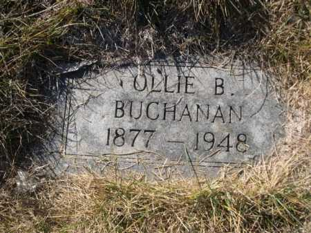 BUCHANAN, OLLIE B. - Dawes County, Nebraska   OLLIE B. BUCHANAN - Nebraska Gravestone Photos