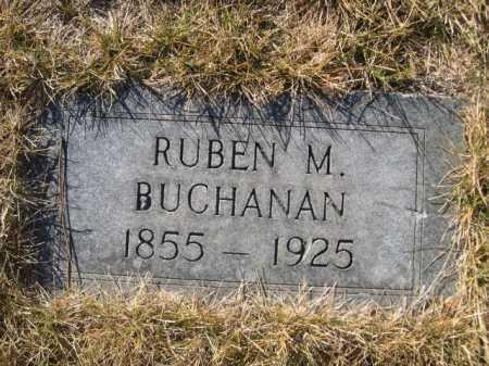 BUCHANAN, RUBEN M. - Dawes County, Nebraska | RUBEN M. BUCHANAN - Nebraska Gravestone Photos