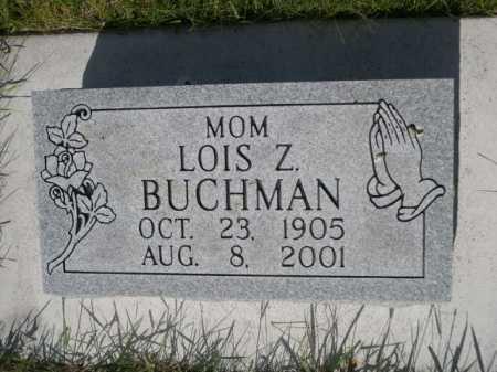 BUCHMAN, LOIS Z. - Dawes County, Nebraska   LOIS Z. BUCHMAN - Nebraska Gravestone Photos