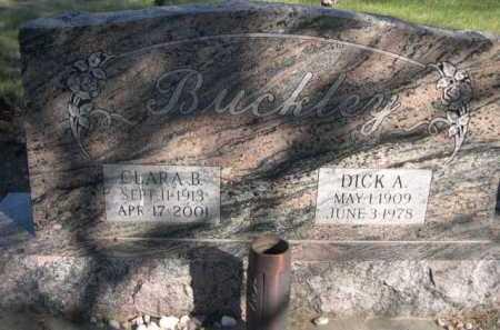 BUCKLEY, DICK A. - Dawes County, Nebraska | DICK A. BUCKLEY - Nebraska Gravestone Photos