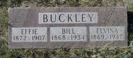 BUCKLEY, EFFIE - Dawes County, Nebraska | EFFIE BUCKLEY - Nebraska Gravestone Photos