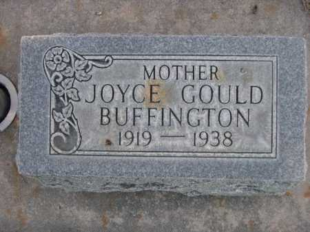 BUFFINGTON, JOYCE GOULD - Dawes County, Nebraska | JOYCE GOULD BUFFINGTON - Nebraska Gravestone Photos