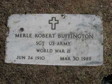 BUFFINGTON, MERLE ROBERT - Dawes County, Nebraska | MERLE ROBERT BUFFINGTON - Nebraska Gravestone Photos