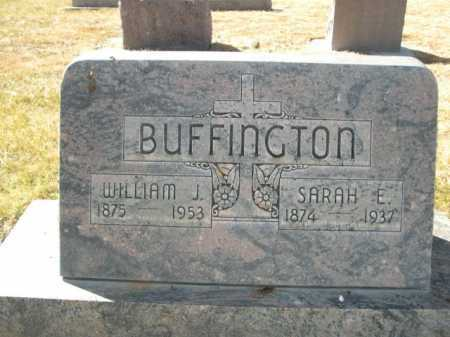 BUFFINGTON, SARAH E. - Dawes County, Nebraska | SARAH E. BUFFINGTON - Nebraska Gravestone Photos