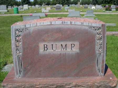 BUMP, FAMILY - Dawes County, Nebraska | FAMILY BUMP - Nebraska Gravestone Photos