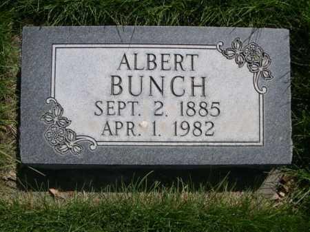 BUNCH, ALBERT - Dawes County, Nebraska | ALBERT BUNCH - Nebraska Gravestone Photos