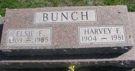 BUNCH, HARVEY F. - Dawes County, Nebraska | HARVEY F. BUNCH - Nebraska Gravestone Photos