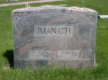 BUNCH, WILLIS - Dawes County, Nebraska | WILLIS BUNCH - Nebraska Gravestone Photos