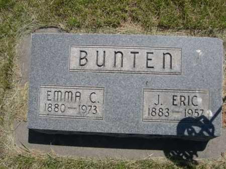 BUNTEN, J. ERIC - Dawes County, Nebraska   J. ERIC BUNTEN - Nebraska Gravestone Photos