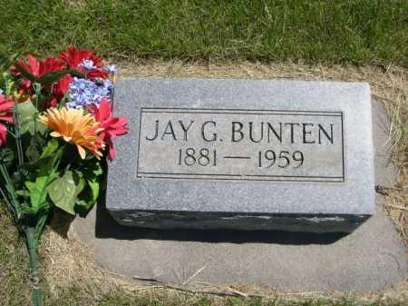 BUNTEN, JAY G. - Dawes County, Nebraska | JAY G. BUNTEN - Nebraska Gravestone Photos