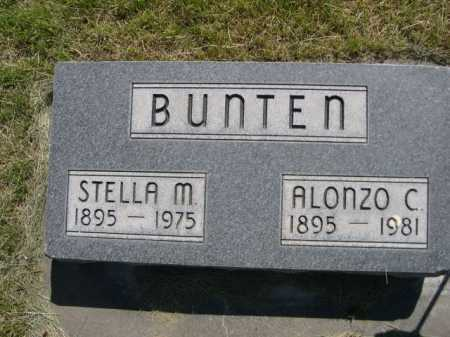 BUNTEN, ALONZO C. - Dawes County, Nebraska | ALONZO C. BUNTEN - Nebraska Gravestone Photos