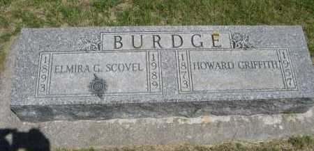 BURDGE, HOWARD GRIFFITH - Dawes County, Nebraska | HOWARD GRIFFITH BURDGE - Nebraska Gravestone Photos