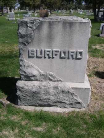 BURFORD, FAMILY - Dawes County, Nebraska | FAMILY BURFORD - Nebraska Gravestone Photos