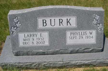 BURK, LARRY E. - Dawes County, Nebraska | LARRY E. BURK - Nebraska Gravestone Photos