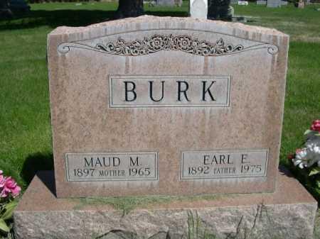 BURK, EARL E. - Dawes County, Nebraska | EARL E. BURK - Nebraska Gravestone Photos