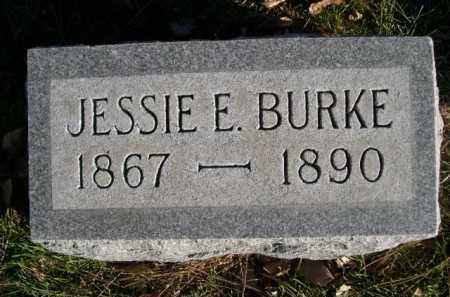 BURKE, JESSIE E. - Dawes County, Nebraska | JESSIE E. BURKE - Nebraska Gravestone Photos
