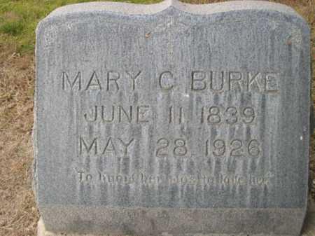 BURKE, MARY C. - Dawes County, Nebraska | MARY C. BURKE - Nebraska Gravestone Photos