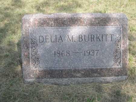 BURKITT, DELIA M. - Dawes County, Nebraska   DELIA M. BURKITT - Nebraska Gravestone Photos