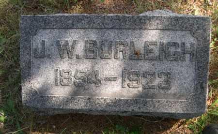 BURLEIGH, J. W. - Dawes County, Nebraska | J. W. BURLEIGH - Nebraska Gravestone Photos