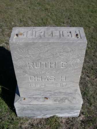 BURLEIGH, RUTH E. - Dawes County, Nebraska   RUTH E. BURLEIGH - Nebraska Gravestone Photos
