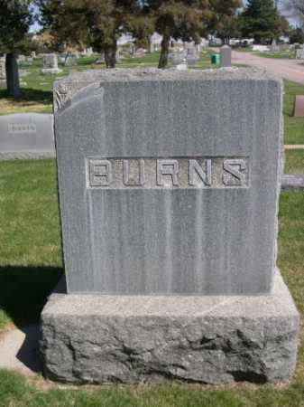 BURNS, FAMILY - Dawes County, Nebraska   FAMILY BURNS - Nebraska Gravestone Photos