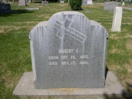 BURNS, ROBERT E. - Dawes County, Nebraska   ROBERT E. BURNS - Nebraska Gravestone Photos