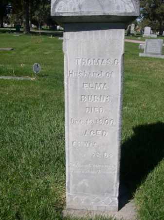 BURNS, THOMAS G. - Dawes County, Nebraska | THOMAS G. BURNS - Nebraska Gravestone Photos