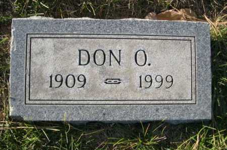 BURROWS, DON O. - Dawes County, Nebraska | DON O. BURROWS - Nebraska Gravestone Photos