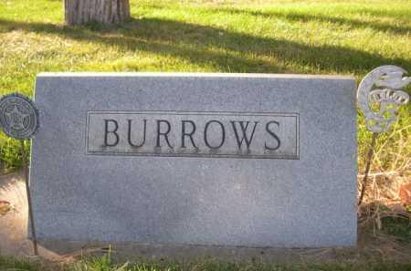 BURROWS, FAMILY - Dawes County, Nebraska | FAMILY BURROWS - Nebraska Gravestone Photos