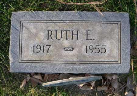 BURROWS, RUTH E. - Dawes County, Nebraska | RUTH E. BURROWS - Nebraska Gravestone Photos
