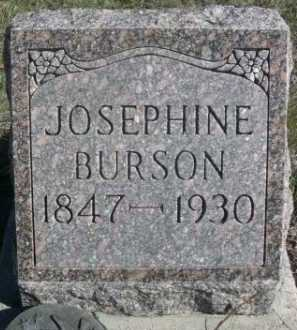 BURSON, JOSEPHINE - Dawes County, Nebraska | JOSEPHINE BURSON - Nebraska Gravestone Photos