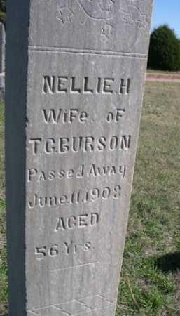 BURSON, NELLIE H. - Dawes County, Nebraska   NELLIE H. BURSON - Nebraska Gravestone Photos