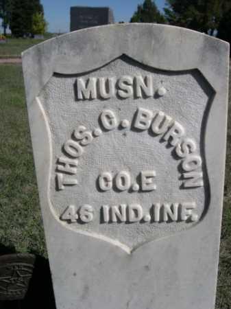 BURSON, THOS. O. - Dawes County, Nebraska | THOS. O. BURSON - Nebraska Gravestone Photos