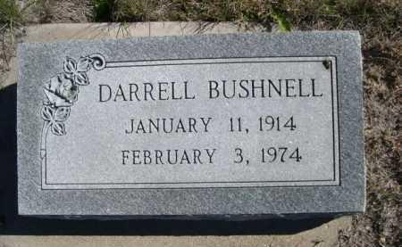 BUSHNELL, DARRELL - Dawes County, Nebraska | DARRELL BUSHNELL - Nebraska Gravestone Photos