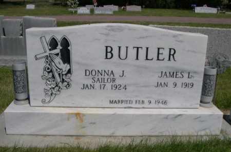 BUTLER, JAMES L. - Dawes County, Nebraska | JAMES L. BUTLER - Nebraska Gravestone Photos