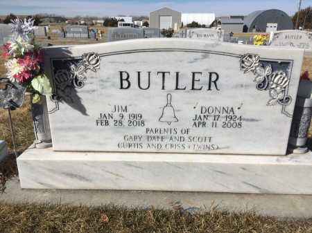 BUTLER, JIM - Dawes County, Nebraska | JIM BUTLER - Nebraska Gravestone Photos
