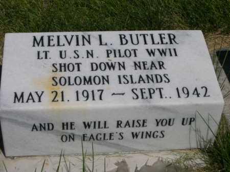 BUTLER, MELVIN L. - Dawes County, Nebraska | MELVIN L. BUTLER - Nebraska Gravestone Photos