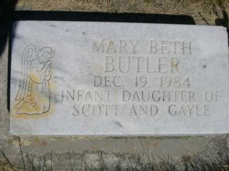 BUTLER, MARY BETH - Dawes County, Nebraska | MARY BETH BUTLER - Nebraska Gravestone Photos